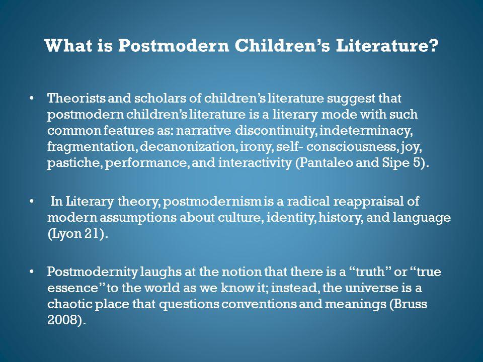 What is Postmodern Children's Literature