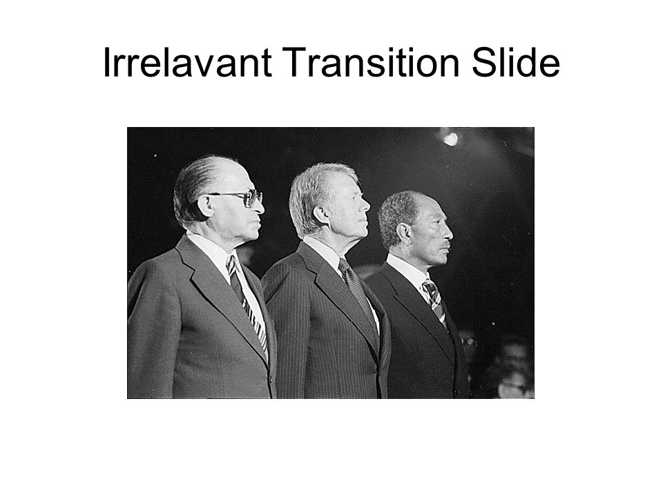 Irrelavant Transition Slide