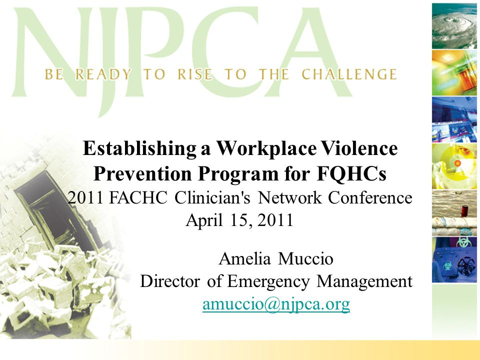 Establishing a Workplace Violence Prevention Program for FQHCs