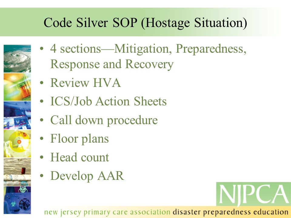 Code Silver SOP (Hostage Situation)