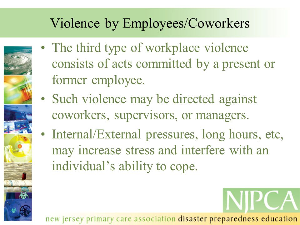 Violence by Employees/Coworkers
