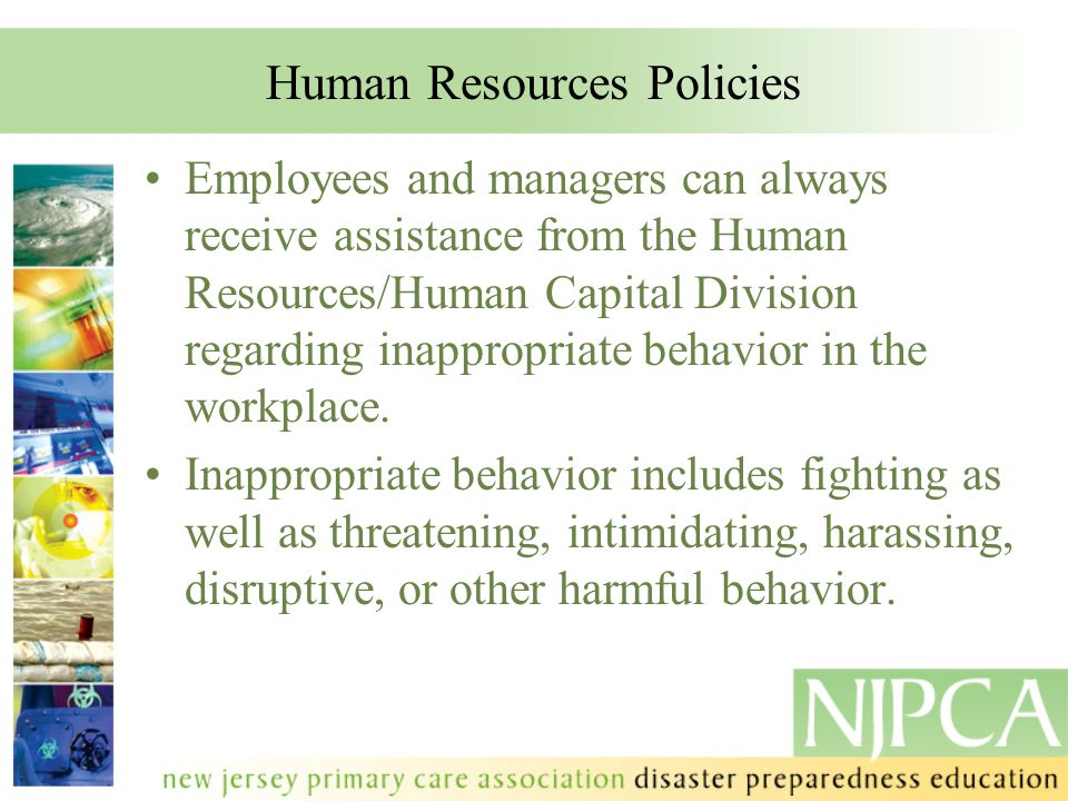 Human Resources Policies
