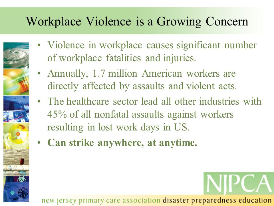 Workplace Violence is a Growing Concern