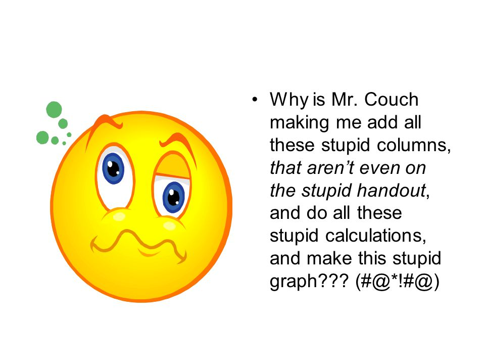 Why is Mr.