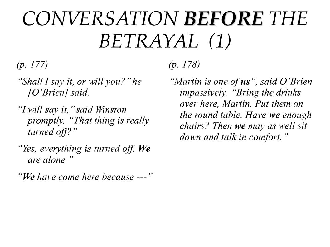 CONVERSATION BEFORE THE BETRAYAL (1)
