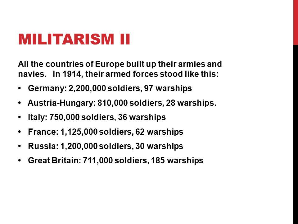 Militarism II