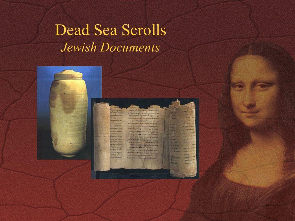Dead Sea Scrolls Jewish Documents