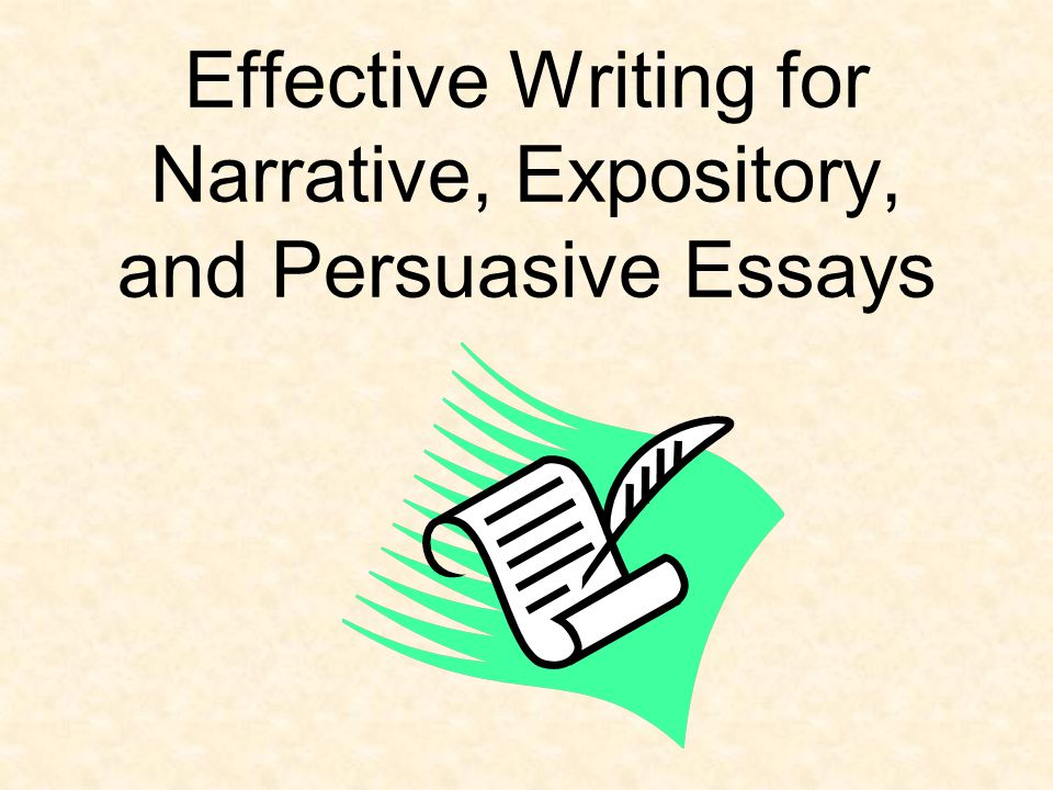 good ideas for narrative essays