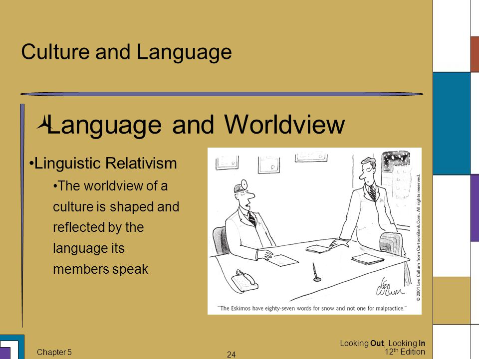 Language and Worldview