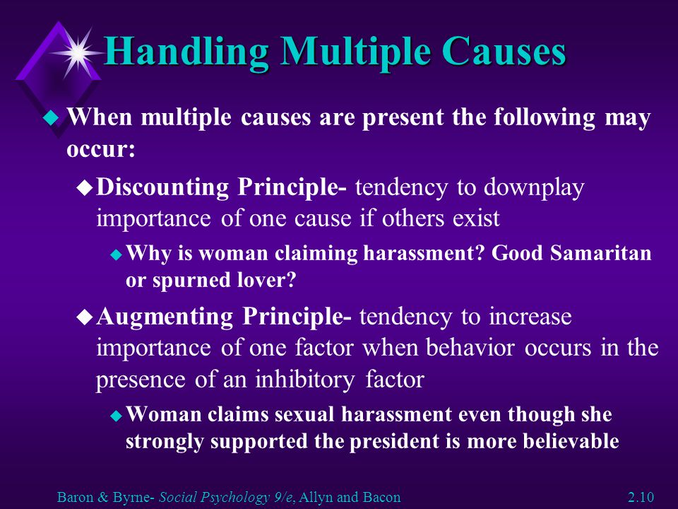 Handling Multiple Causes