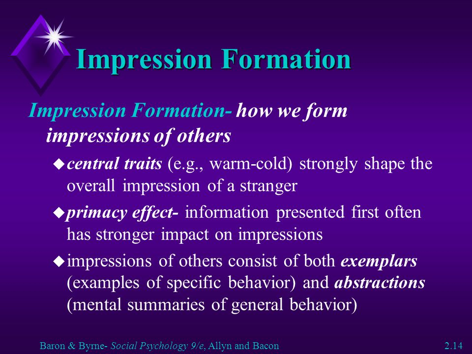 forming first impressions of people psychology essay It's no secret: first impressions are a big deal the first few moments of any interaction go a long way in influencing our opinions and decisions now.