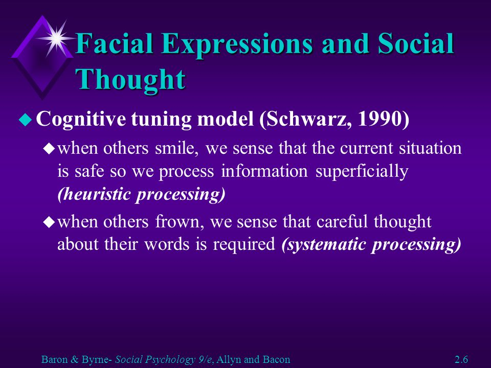 Facial Expressions and Social Thought