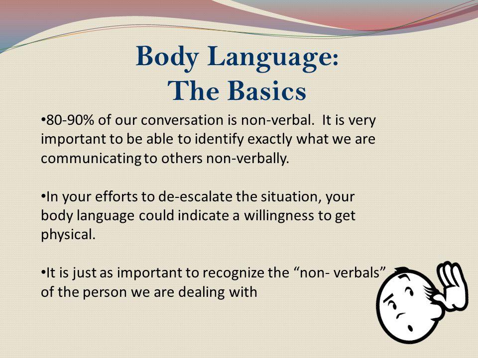 Body Language: The Basics