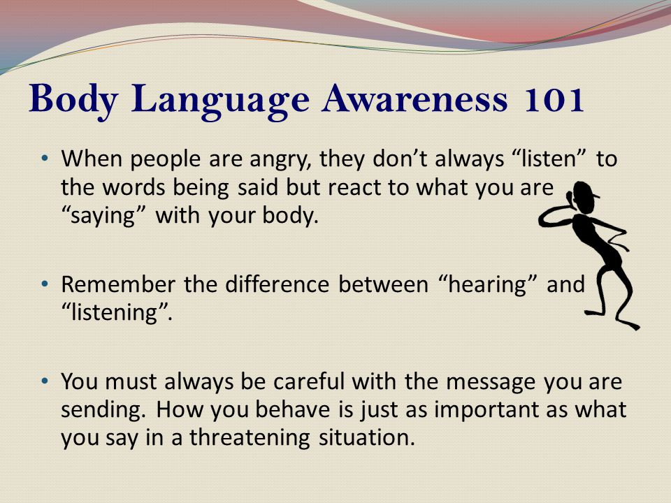 Body Language Awareness 101