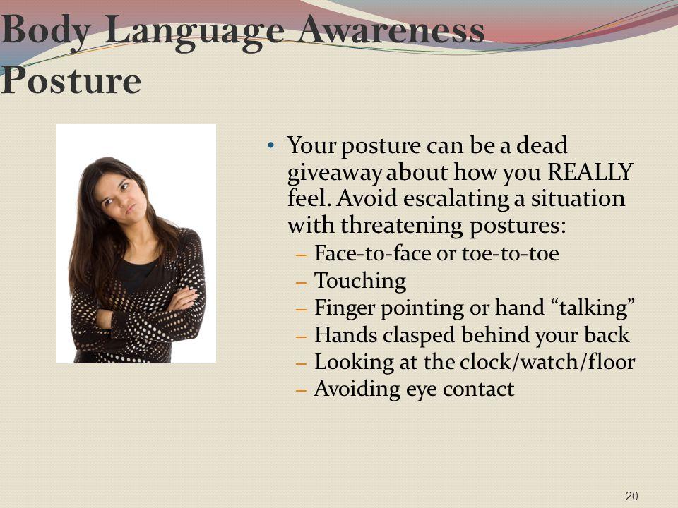 Body Language Awareness Posture