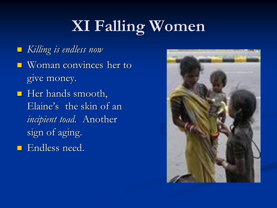 XI Falling Women Killing is endless now