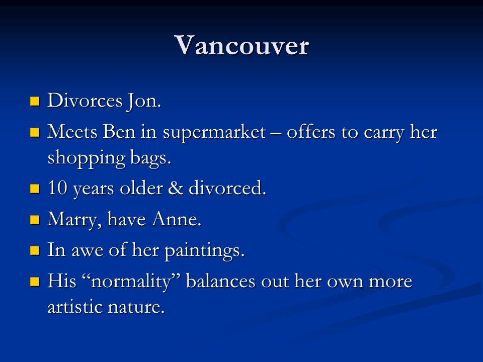 Vancouver Divorces Jon.
