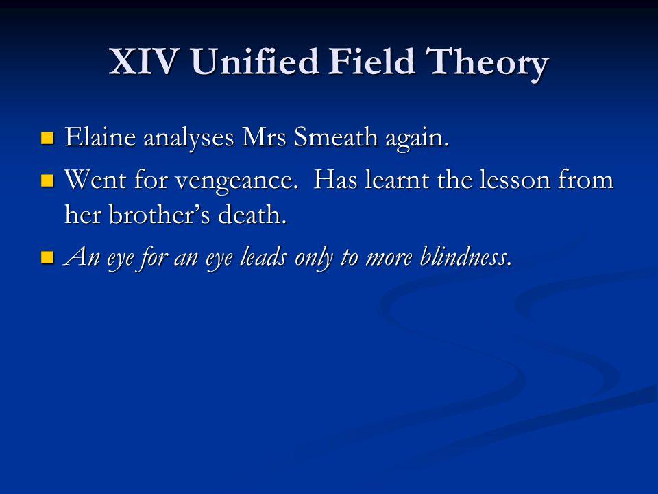 XIV Unified Field Theory