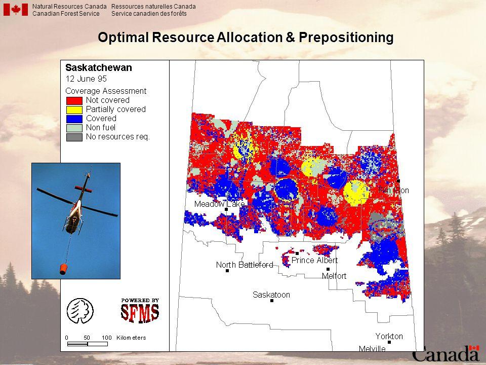Optimal Resource Allocation & Prepositioning