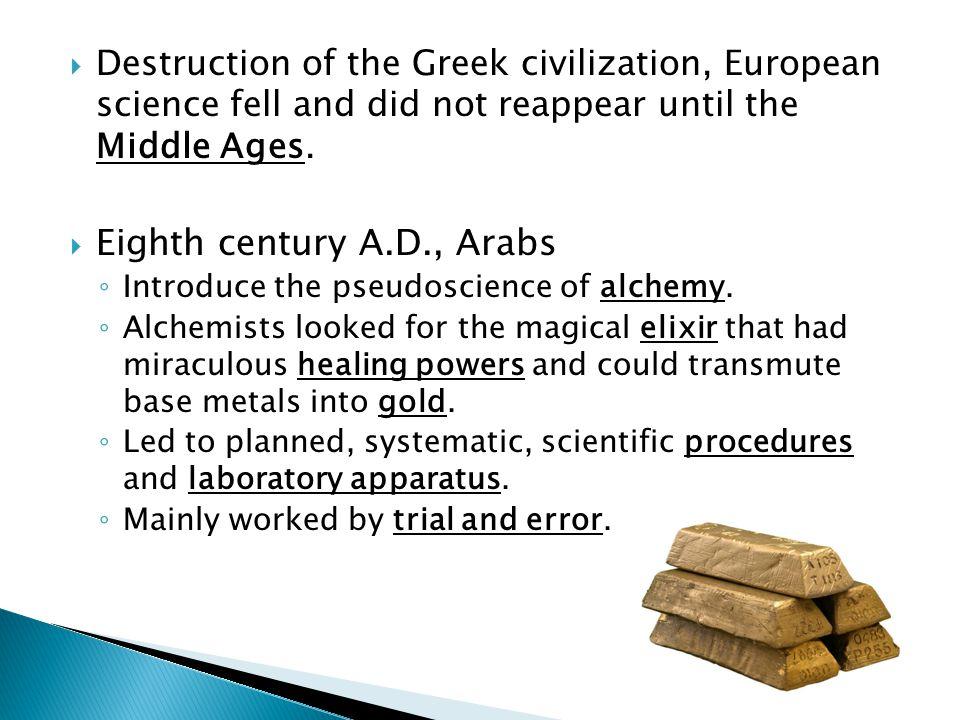 Eighth century A.D., Arabs