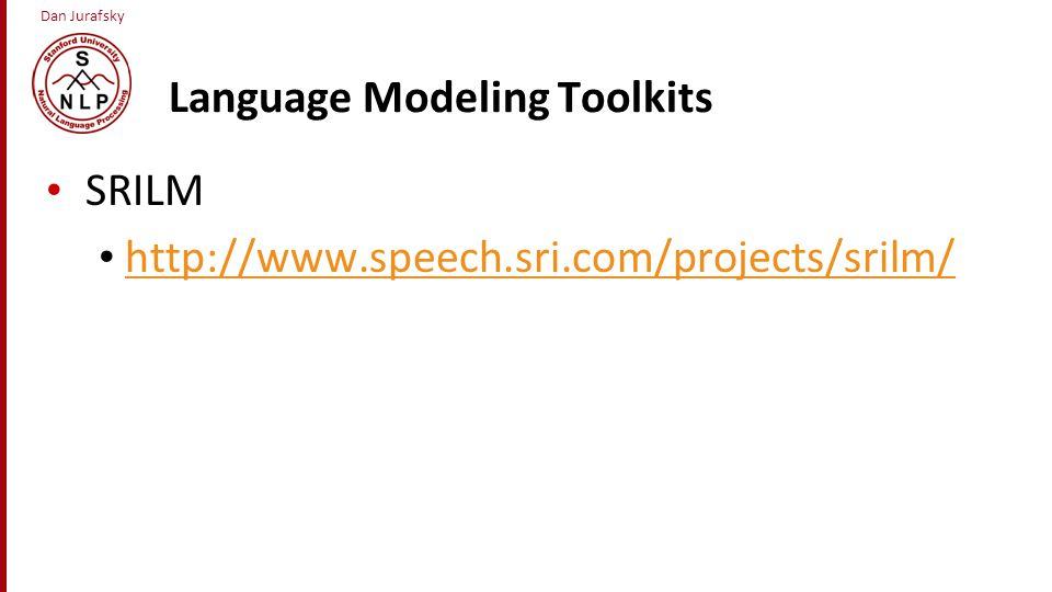 Language Modeling Toolkits