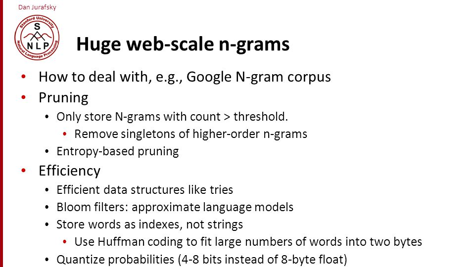 Huge web-scale n-grams