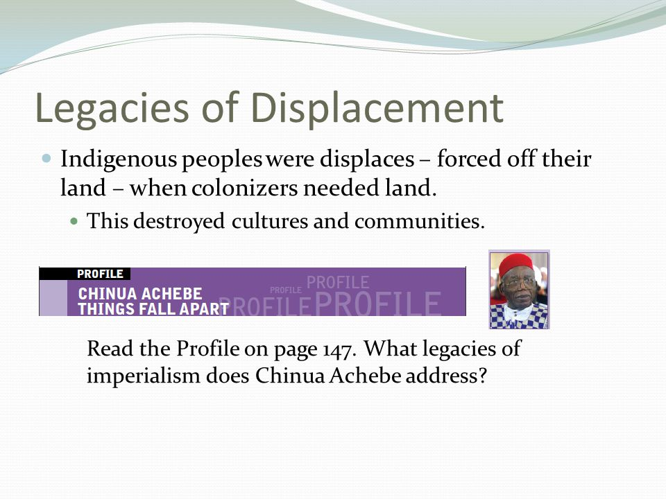Legacies of Displacement