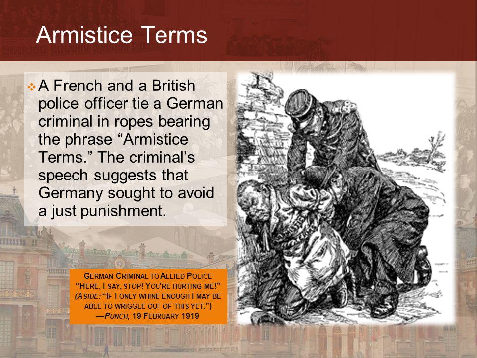 Armistice Terms