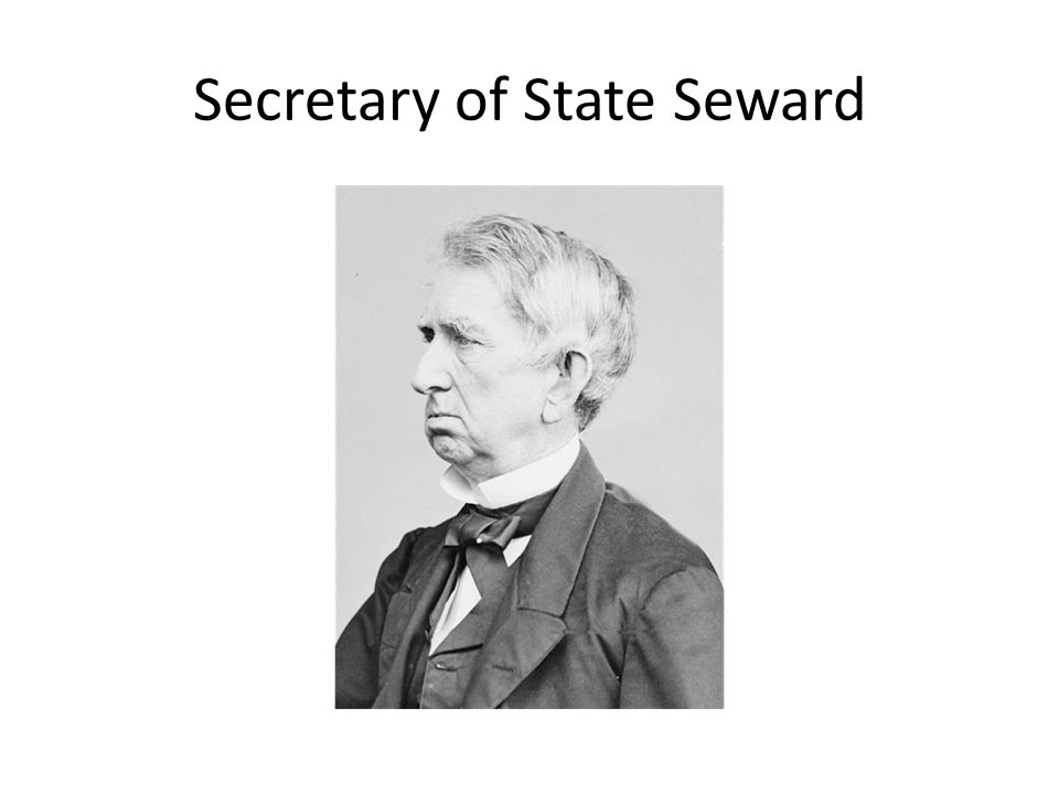 Secretary of State Seward