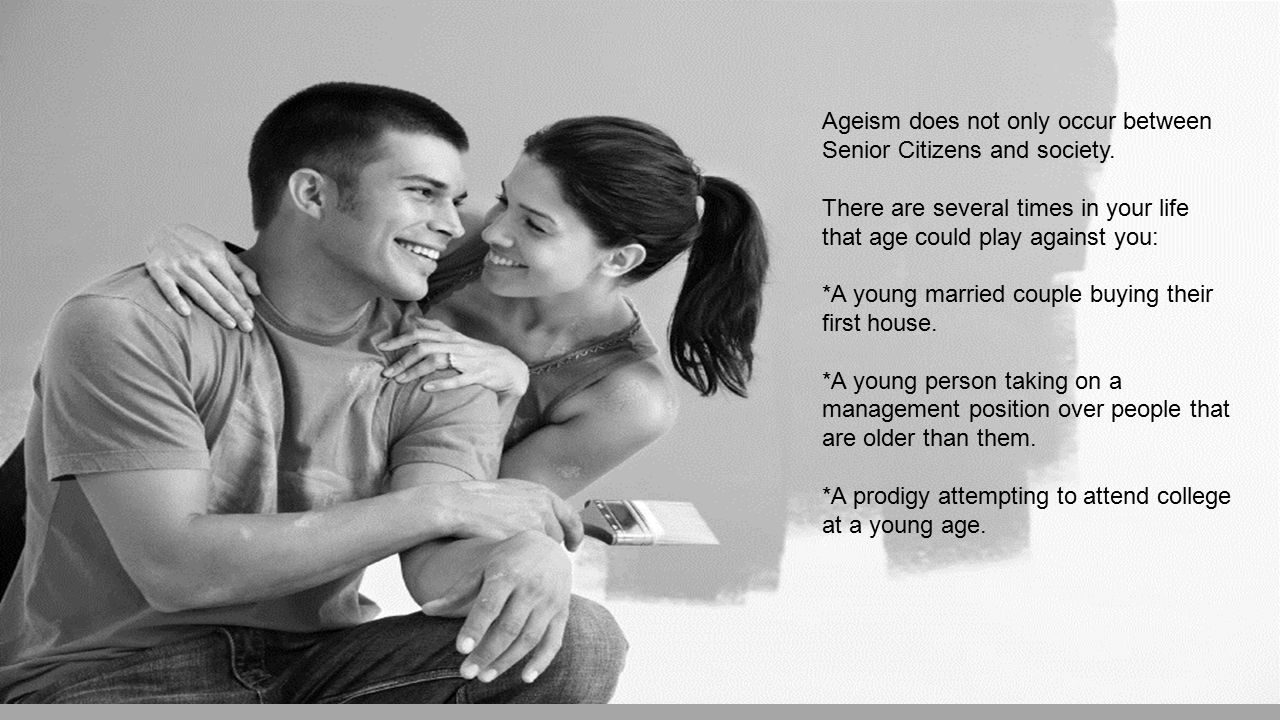 Ageism does not only occur between Senior Citizens and society.
