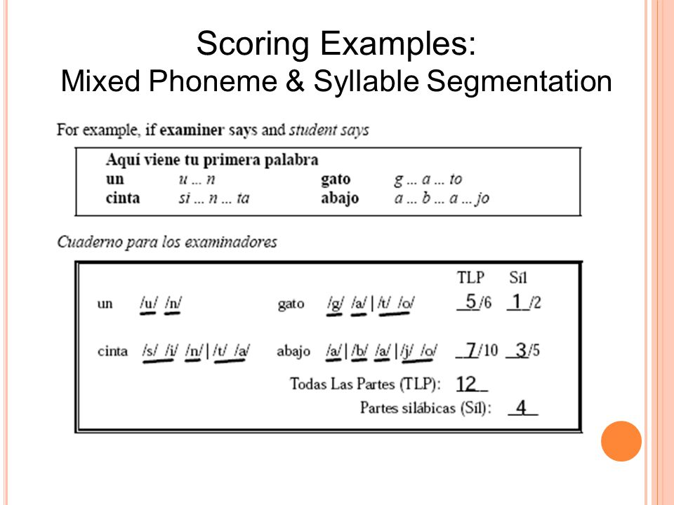 Mixed Phoneme & Syllable Segmentation