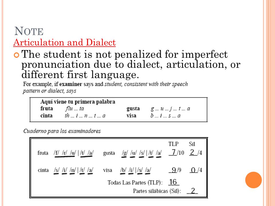 Note Articulation and Dialect.