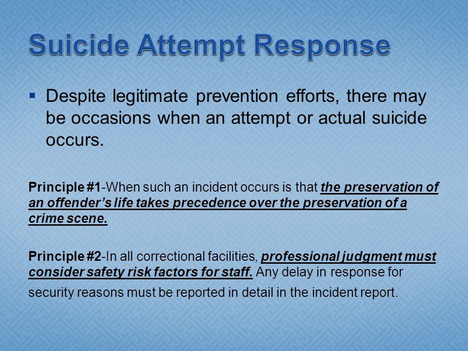Suicide Attempt Response