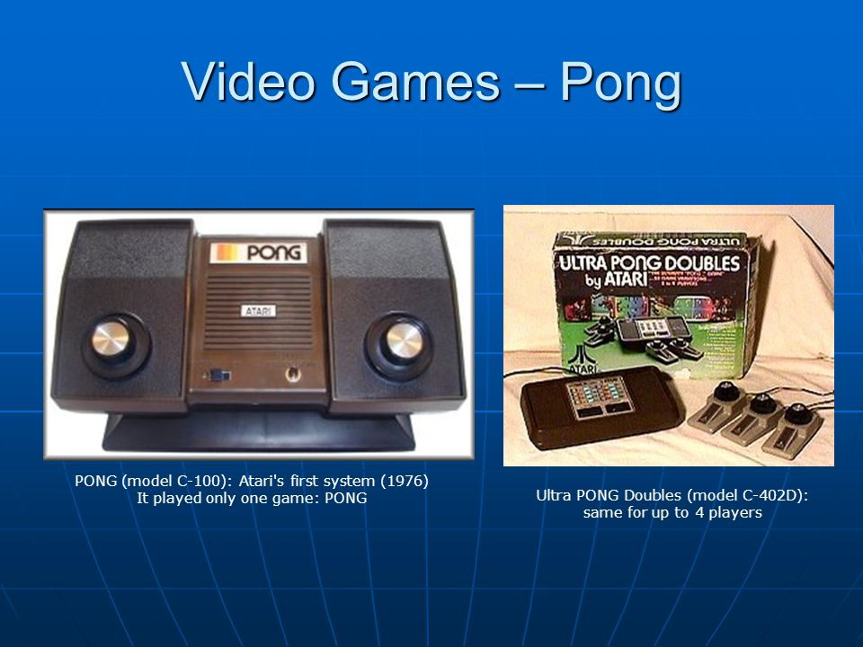 Ultra PONG Doubles (model C-402D): same for up to 4 players