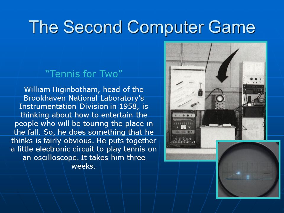 The Second Computer Game
