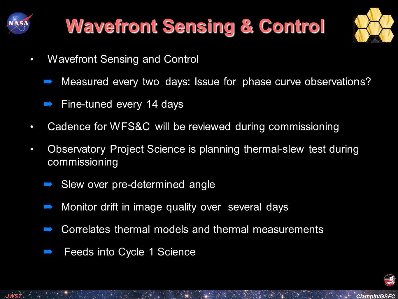 Wavefront Sensing & Control