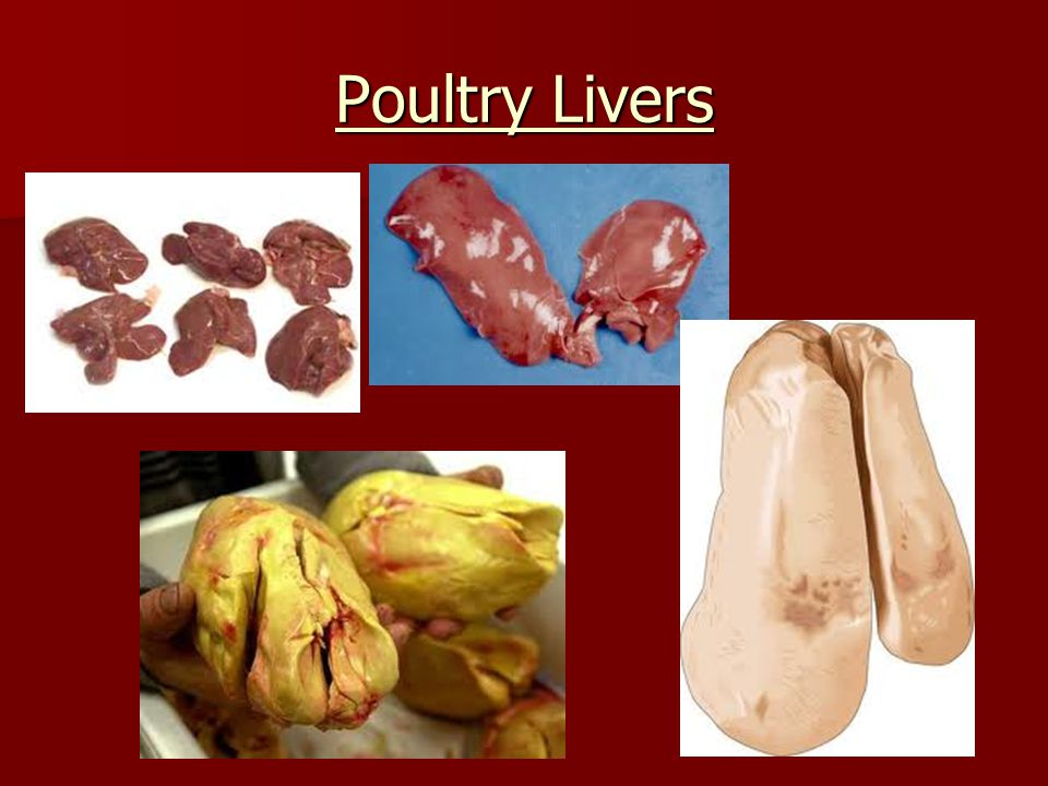 Poultry Livers
