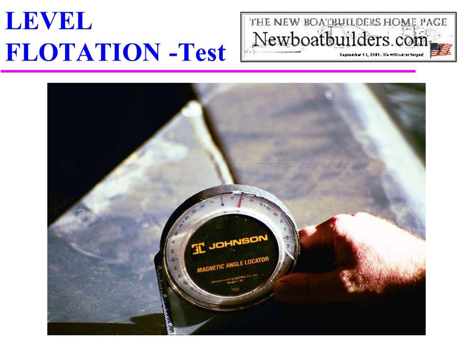 LEVEL FLOTATION -Test