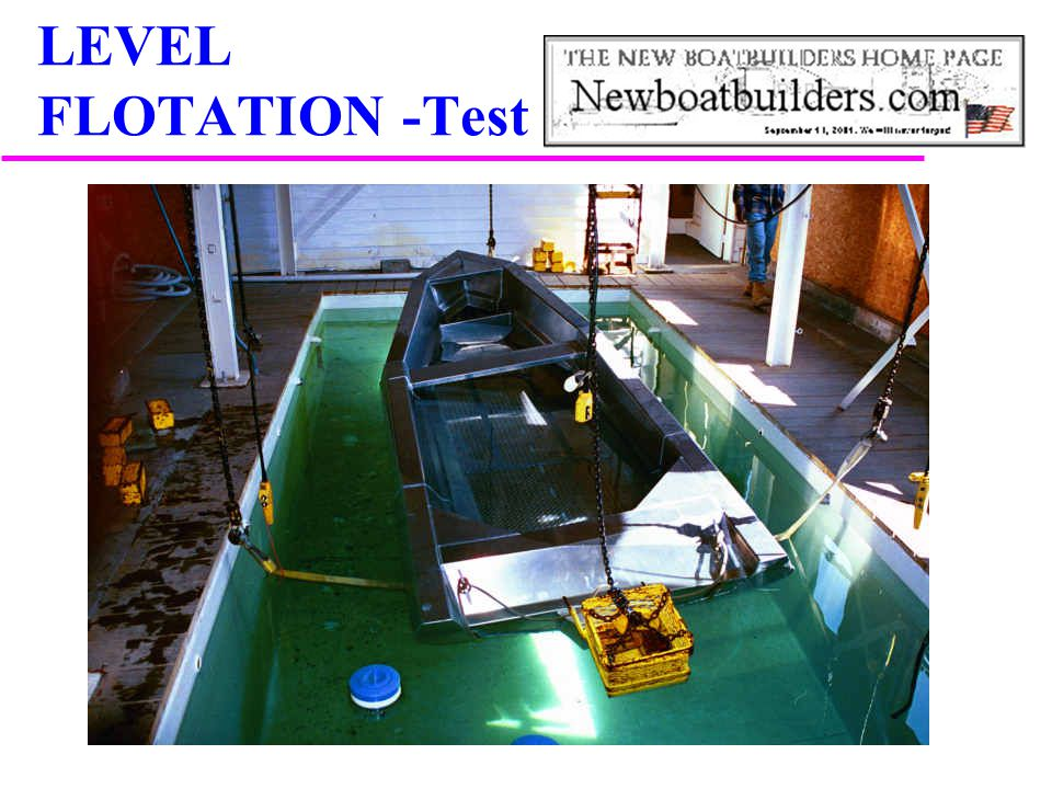 LEVEL FLOTATION -Test