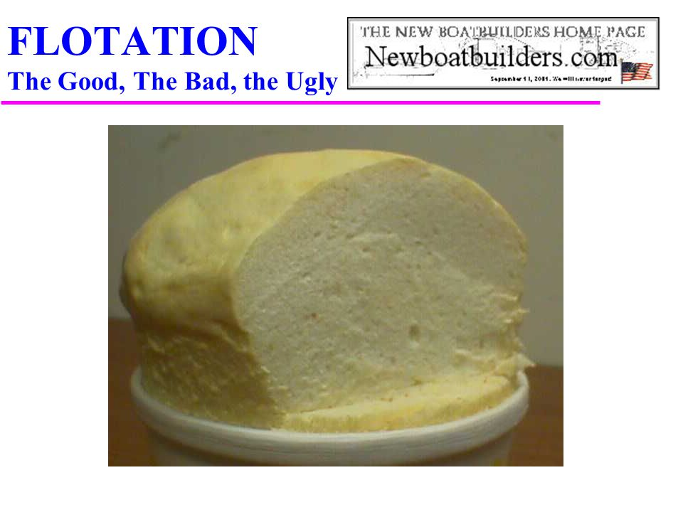 FLOTATION The Good, The Bad, the Ugly