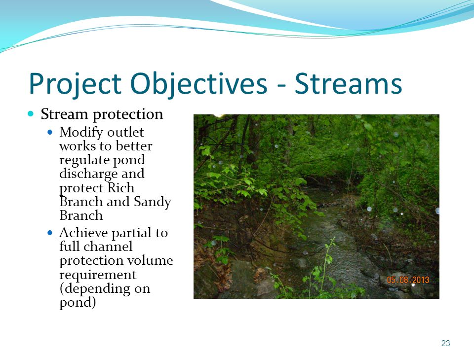 Project Objectives - Streams