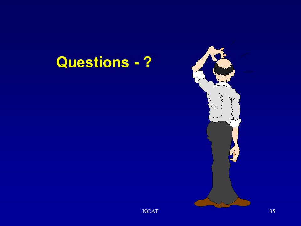 Questions - NCAT