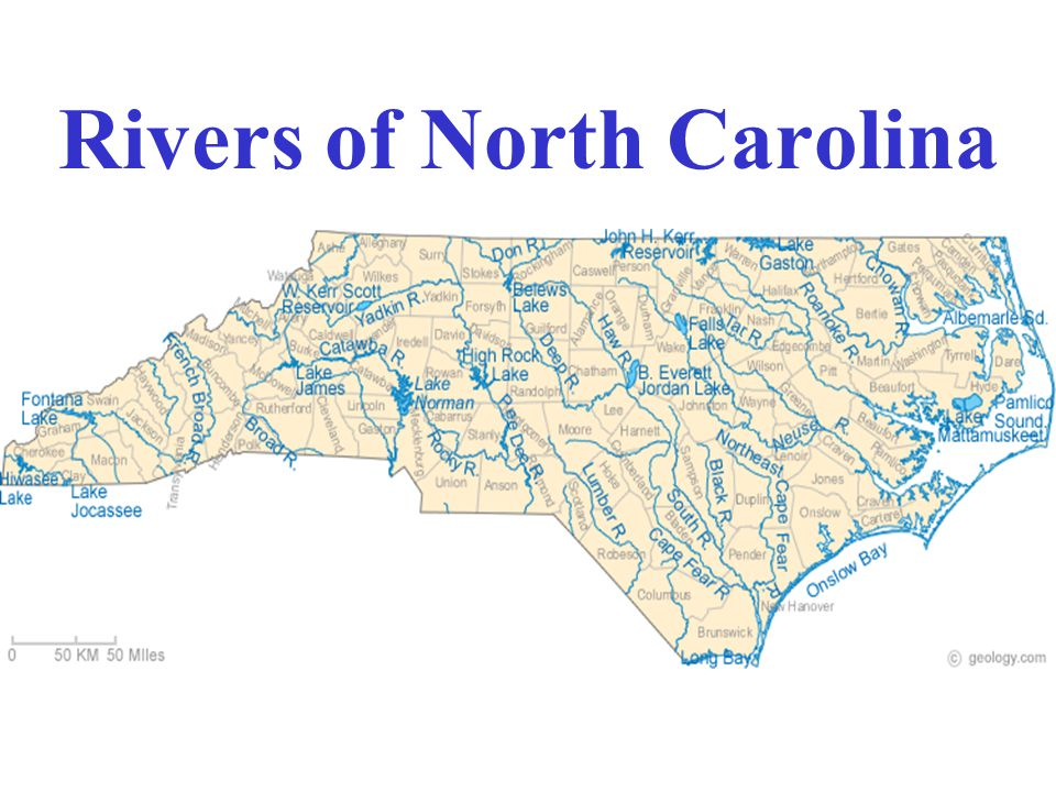 Rivers of North Carolina