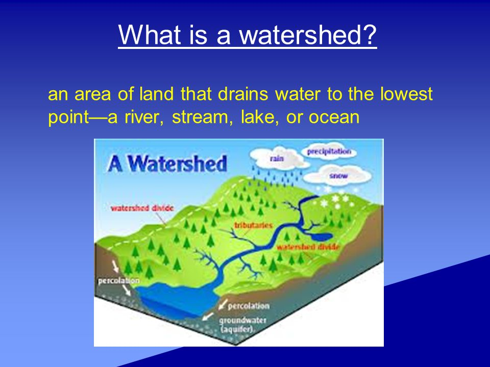 What is a watershed.