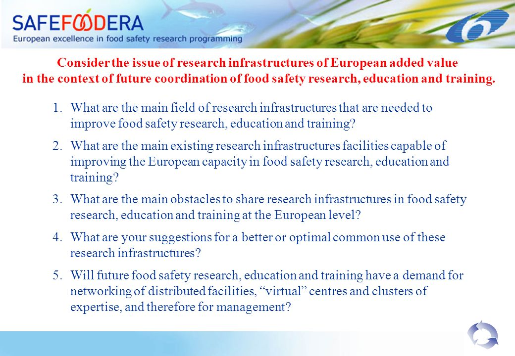 Consider the issue of research infrastructures of European added value