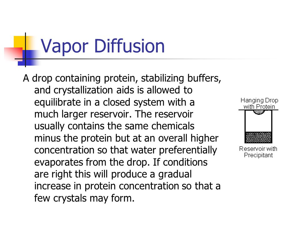 Vapor Diffusion