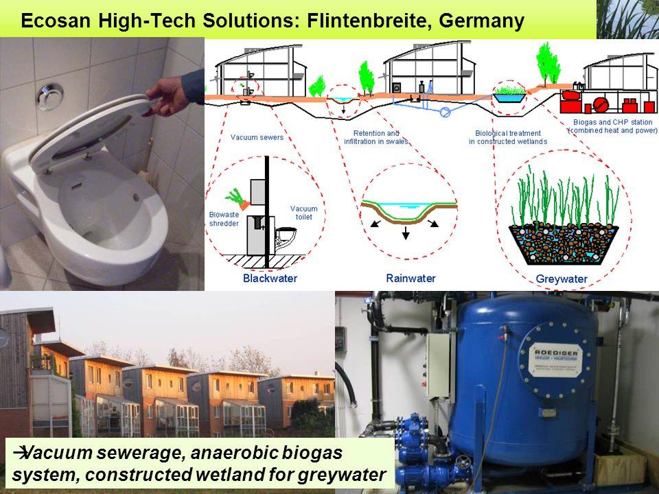 Ecosan High-Tech Solutions: Flintenbreite, Germany