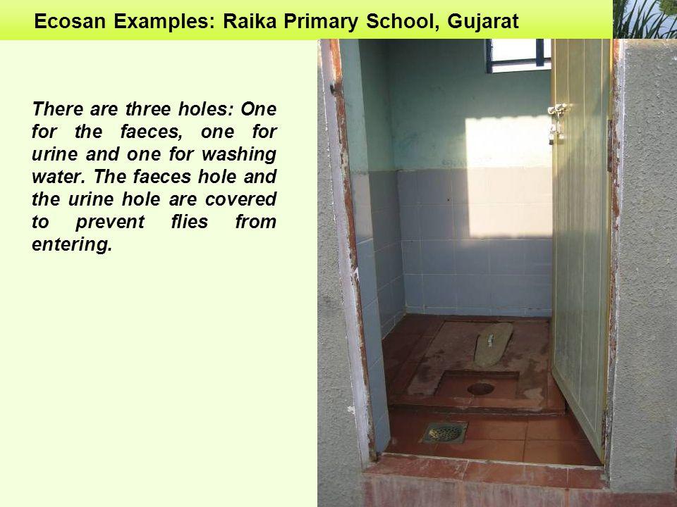Ecosan Examples: Raika Primary School, Gujarat