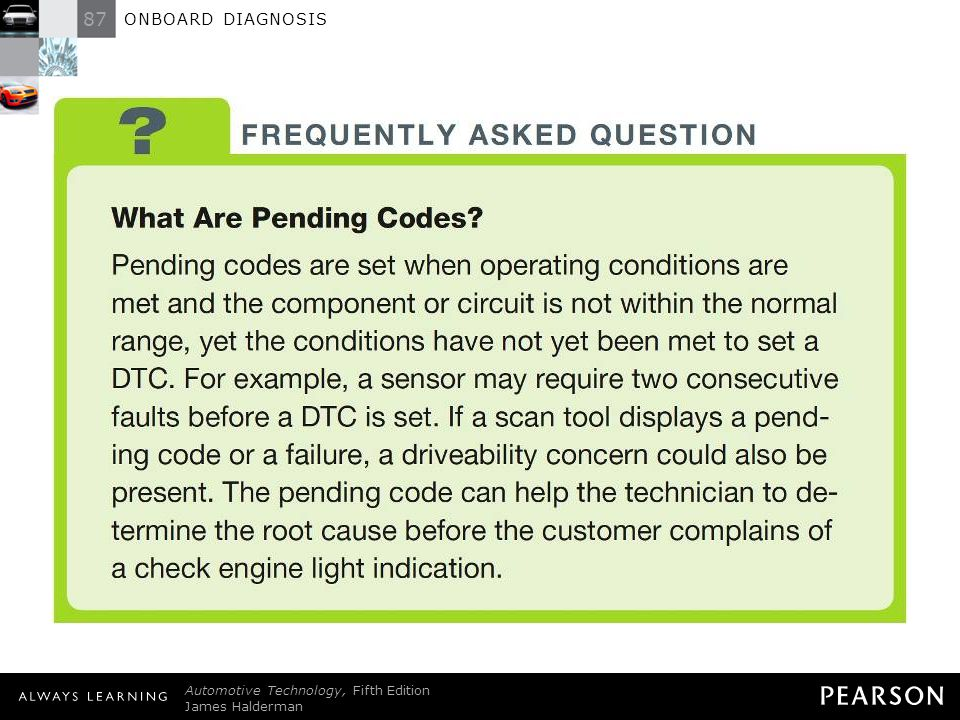 FREQUENTLY ASKED QUESTION: What Are Pending Codes