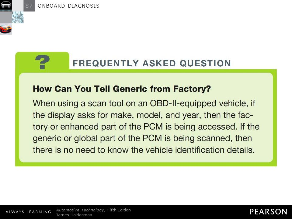 FREQUENTLY ASKED QUESTION: How Can You Tell Generic from Factory